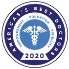 2020 America's Best Doctors badge
