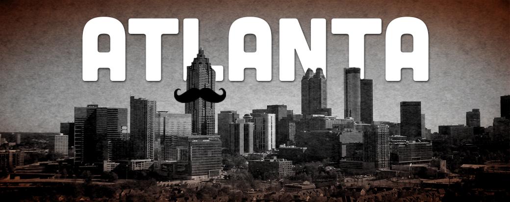 Atlanta Mustache Dache 2015 poster