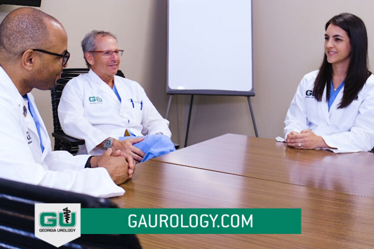 Screenshot of Georgia Urology ad preview.