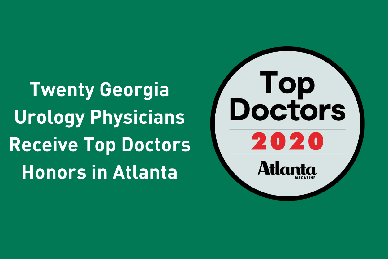 Graphic with Top Doctors 2020 logo.