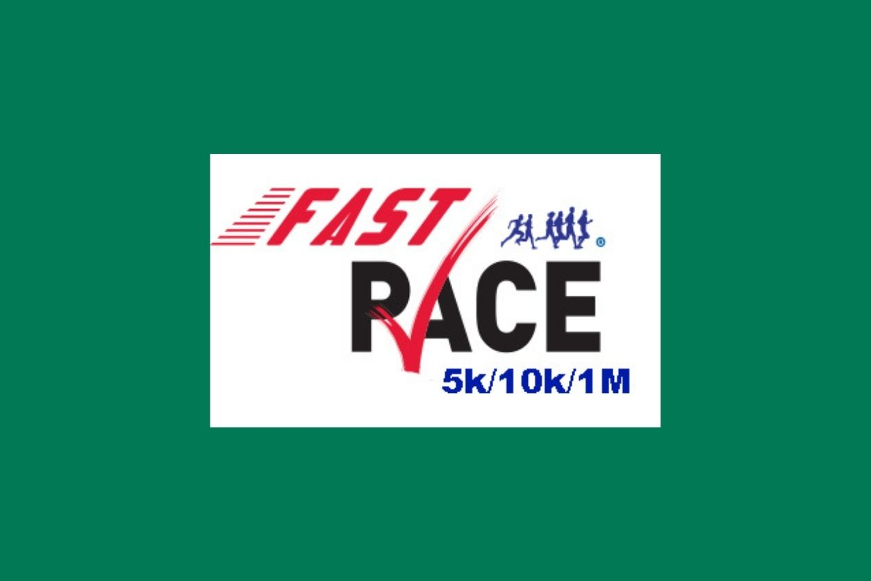 Fast Pace Race logo with the Georgia Urology green background.