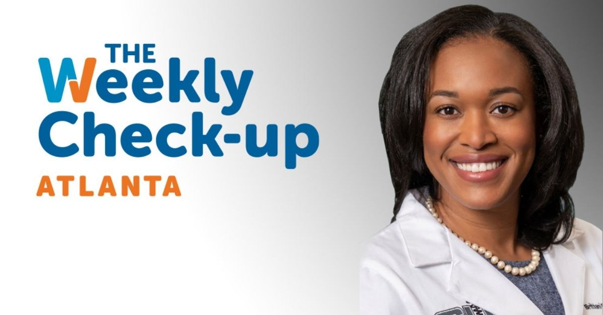 "Dr. Barrett-Harlow appears on ""The Weekly Check-Up"" on wsb radio"
