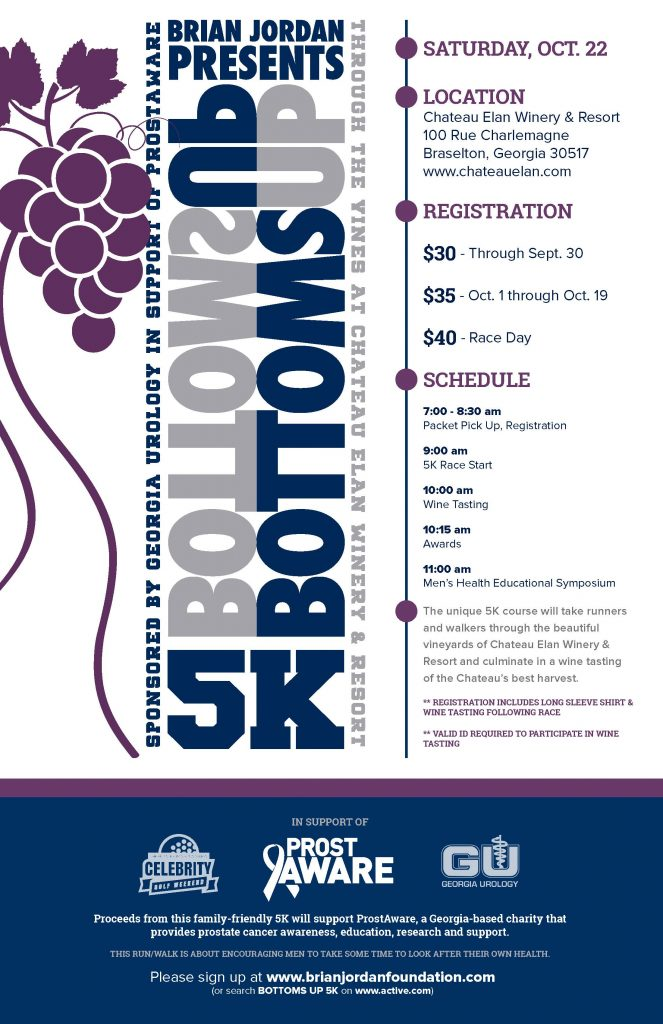 Bottoms Up 5K Schedule
