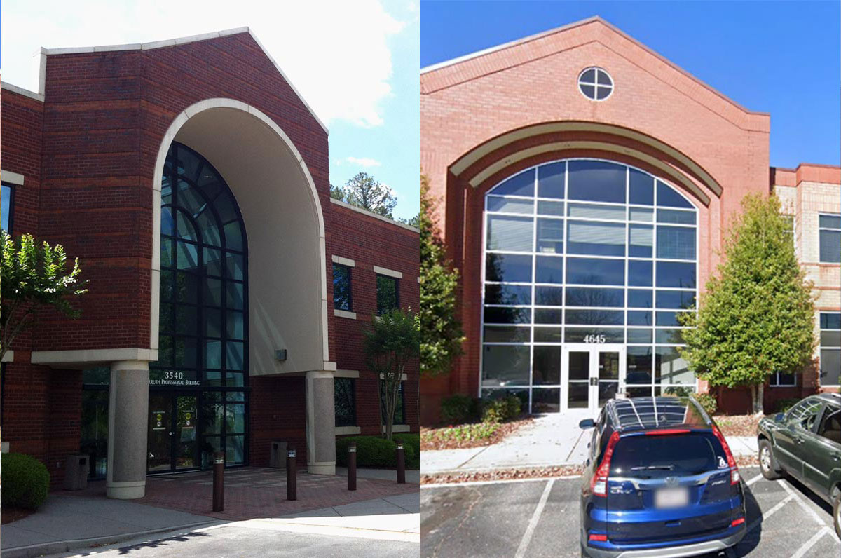 Relocated Georgia Urology Duluth and Douglasville offices