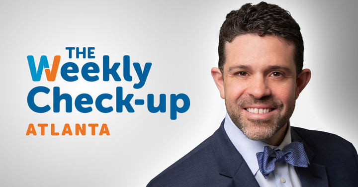 """Dr. Froylan Gonzalez appearing on """"The Weekly Check-Up"""" on WSB Radio"""