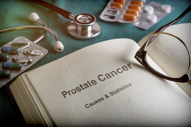 Open Book Of prostate cancer, Conceptual Image discussing What medical advances have been made with Prostate Cancer.