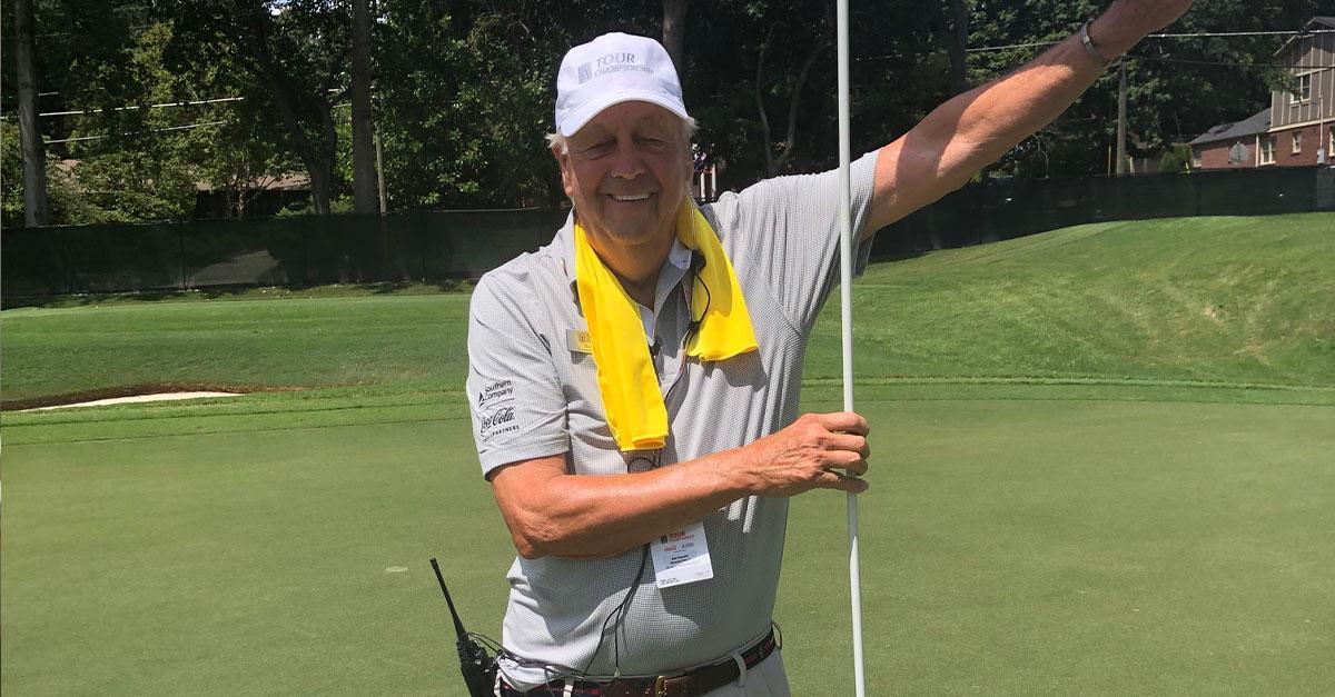 Veteran Bob Weyand at the golf TOUR Championship