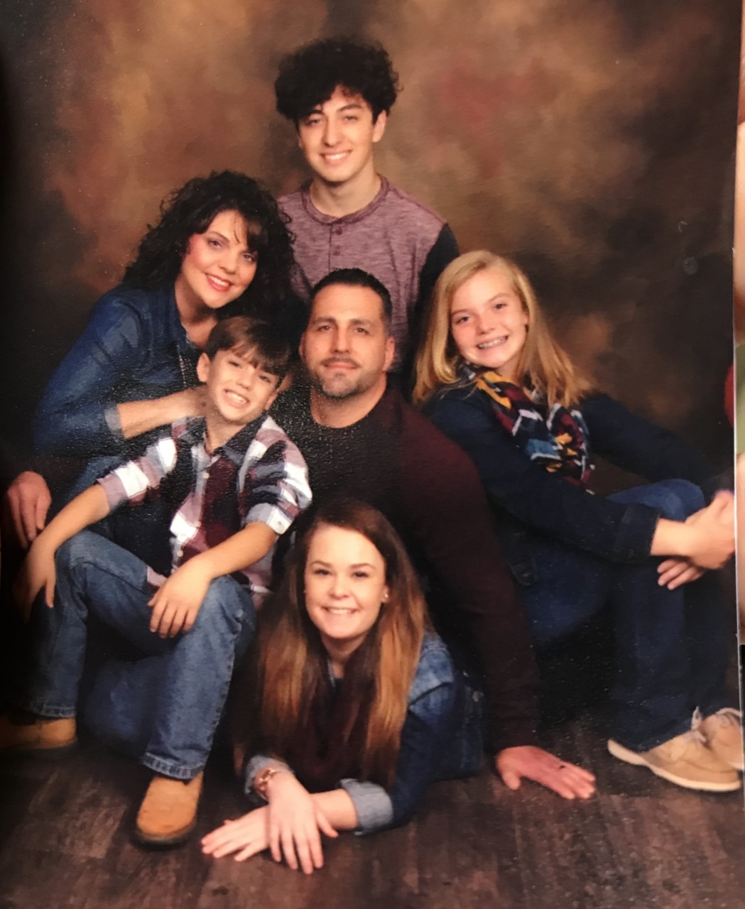 Photo of employee Kendall Bradley with her entire family