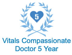 Vitals Compassionate Doctor 5 Year