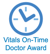 Vitals On-Time Doctor Award