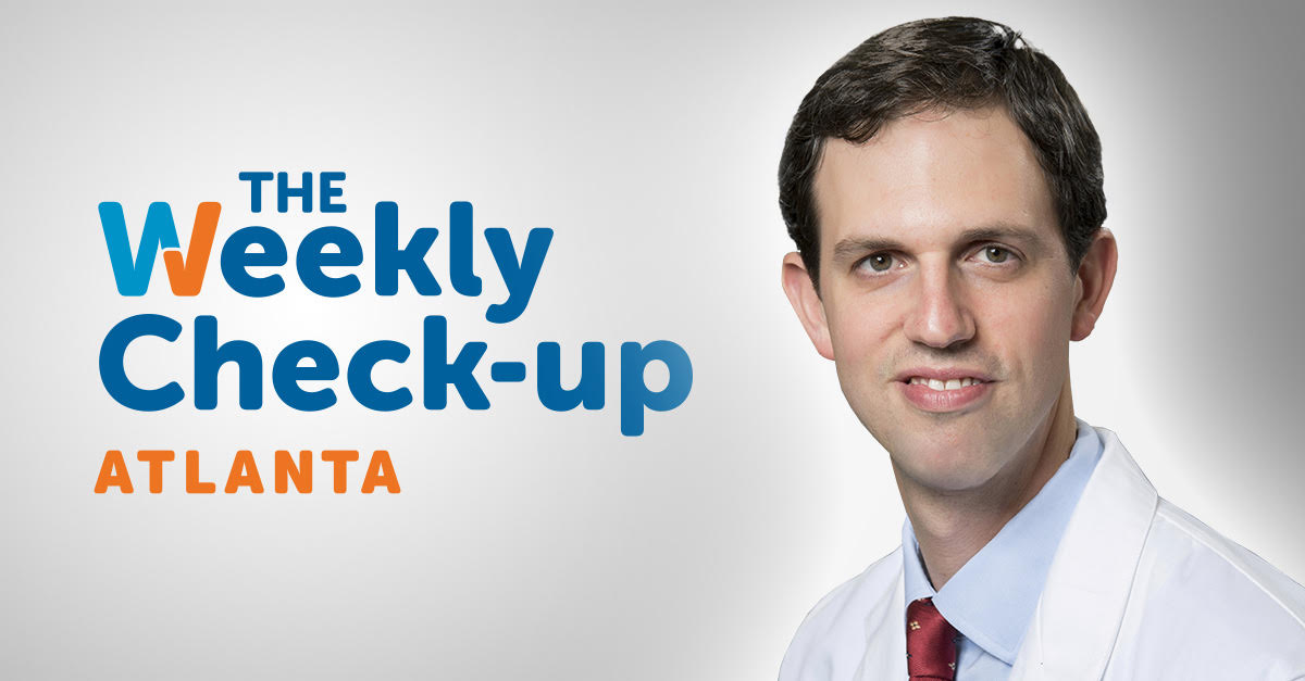 Dr. Wesley Ludwig of Georgia Urology appeared on The Weekly Check-Up on WSB Radio