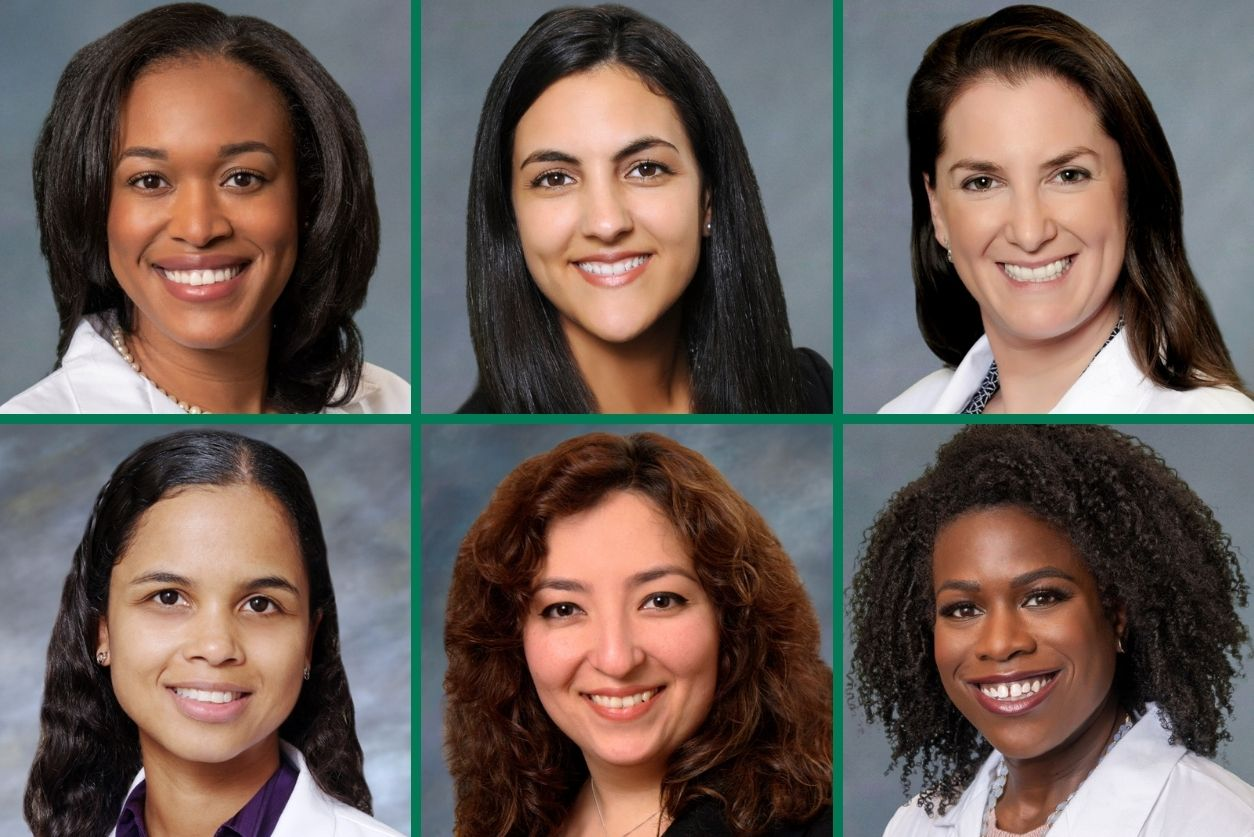 Headshots of the female urologists at Georgia Urology.
